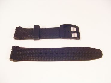 Black 19/22mm Swatch Chronograph Watch Strap | Watch Straps and Bands | Watch Tools | Watch Glass and Crystals | Cleaning | Watch Parts | Watch Hands | Vintage Watch Parts | Watch Batteries | Clock Parts